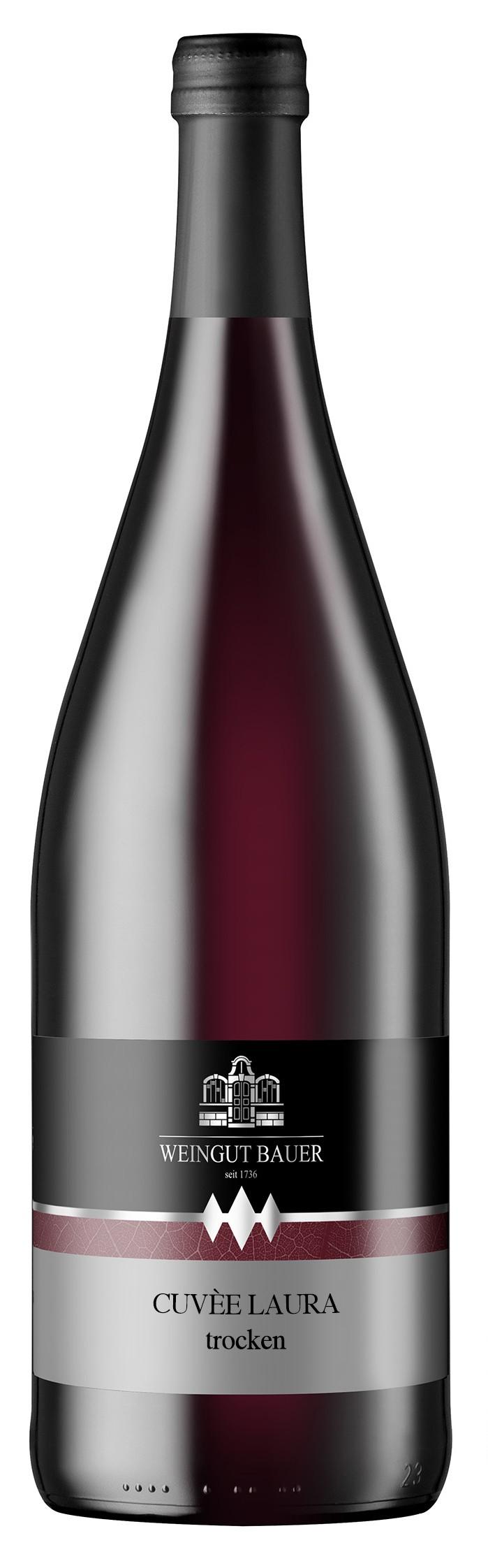 2014 Cuvee Laura, Rotwein,trocken Qualitätswein 1000ml