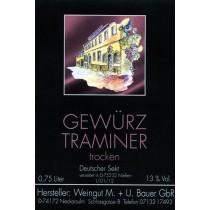 2014 Gewürztraminer trocken - Sekt 750ml