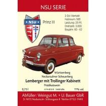 NSU Prinz 3 1962 - Lemberger mit Trollinger Kabinett 2015 750ml