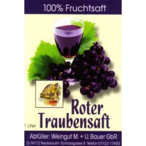 Traubensaft rot 960ml