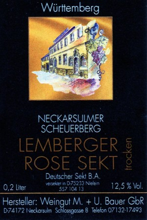 2014 Lemberger Rosé trocken Piccolo 200ml