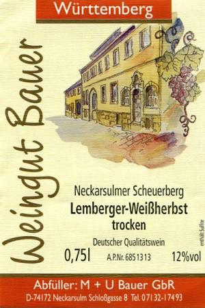 2018 Lemberger Rosé trocken 750ml