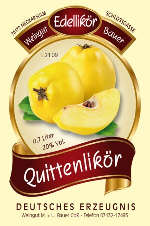 Quittenlikör 700ml