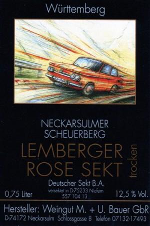 NSU Prinz TT - 2014 Rosé Sekt trocken 750ml