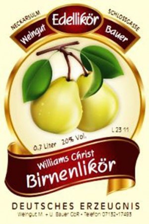 Williams Christ Birnen Likör 700ml