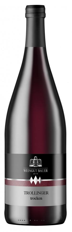 2015 Trollinger, trocken, Qualitätswein, 1000ml
