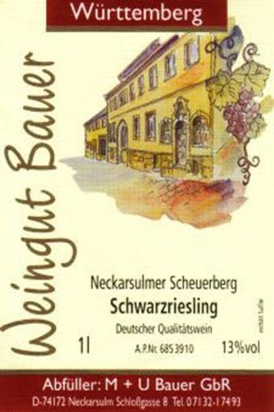 2013er Schwarzriesling