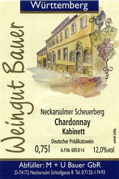2015er Chardonnay Kabinett trocken - 0,75L