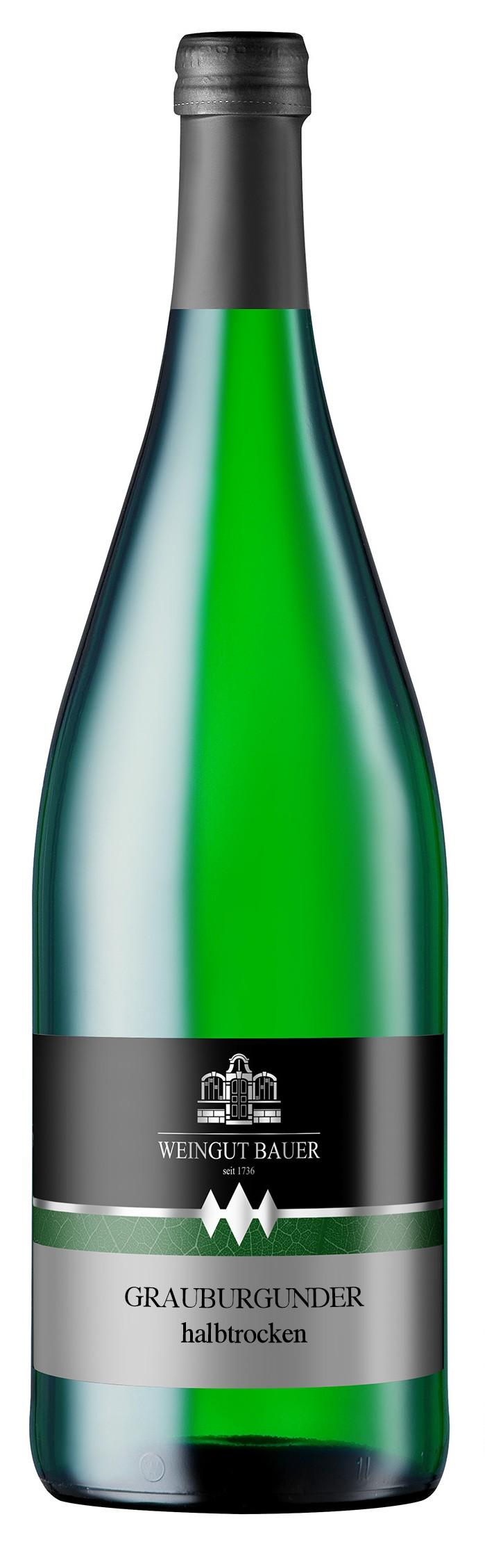 2015 Grauburgunder Qualitätswein halbtrocken 1000ml